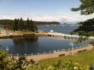 Nanaimo has many wonderful parks. Two of the closest to Protection Island are Maffeo Sutton Park and Newcastle island Marine Park, both visible in this photo