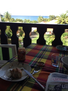 We loved our outdoor dining room with a view